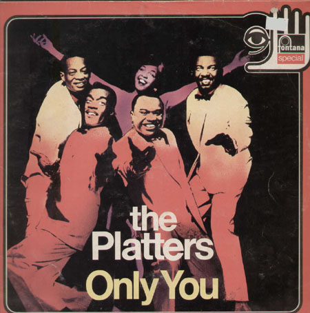 The Platters Only You Fontana Vinyl Lp