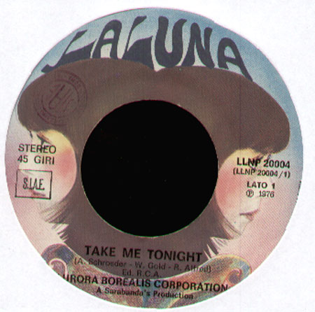 AURORA BOREALIS CORPORATION - Take Me Tonight