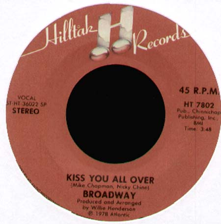 BROADWAY - Love Bandit / Kiss You All Over