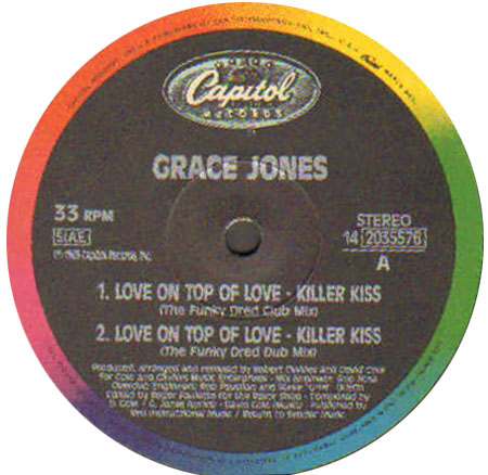 GRACE JONES - Love On Top Of Love (The Cole & Clivilles Mixes)