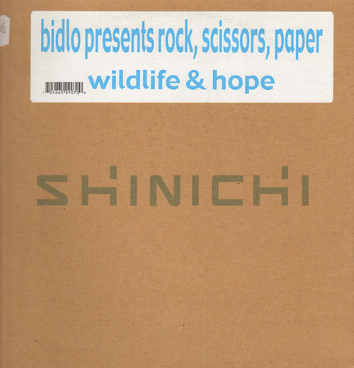 BIDLO - Wildlife & Hope - Presents Rock, Scissors, Paper (ONLY C/D Side)