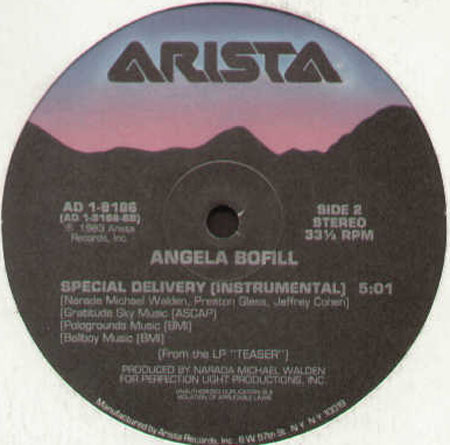 ANGELA BOFILL - Special Delivery