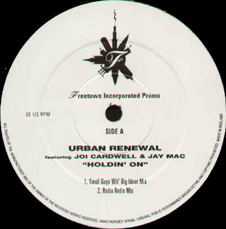 URBAN RENEWAL - Holdin' On, Feat. Joi Cardwell & Jay Mac