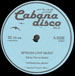 PAT LES STACHE - Pat Les Stache - Presents: Cabana Disco Vol.1
