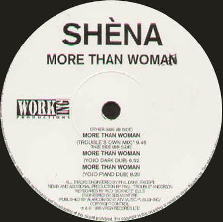 Shena More Than Woman 2 X Vinyl Promo Paul Trouble