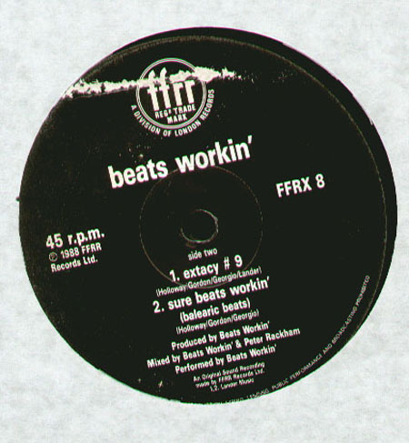 BEATS WORKIN' - Sure Beats Workin'