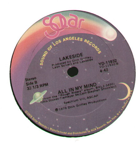 LAKESIDE - From 9:00 Until / All In My Mind
